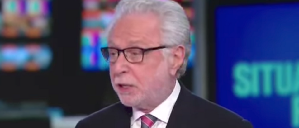 Wolf Blitzer, July 28, 2017. (Youtube screen grab)