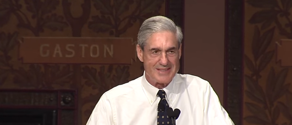 Bob Mueller Speech At Georgetown 2014/YouTube Screenshot/