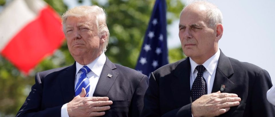 Trump and Kelly Reuters Kevin Lamarque