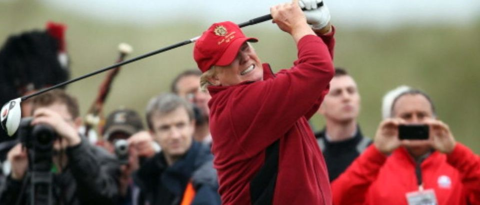 The Trump International Golf Links Course Opens(Photo by Ian MacNicol/Getty Images)