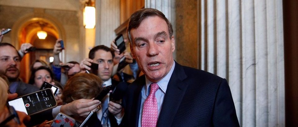Virginia Democratic Sen. Mark Warner