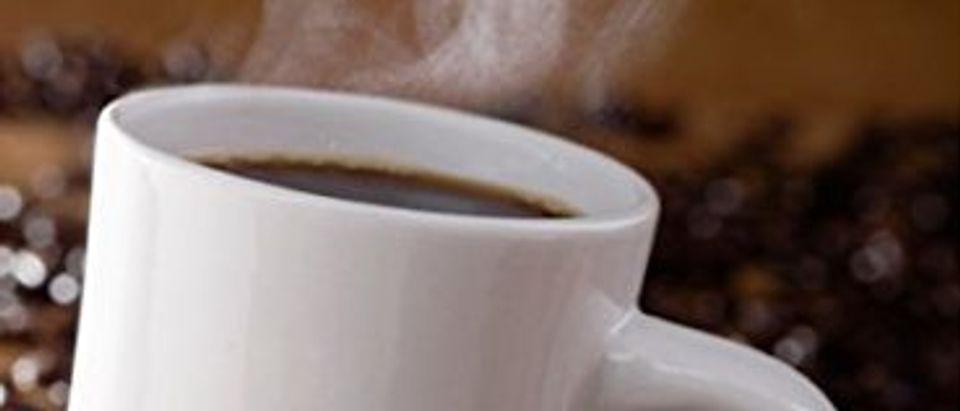 This machine promises hotter, faster coffee (Photo via Amazon)