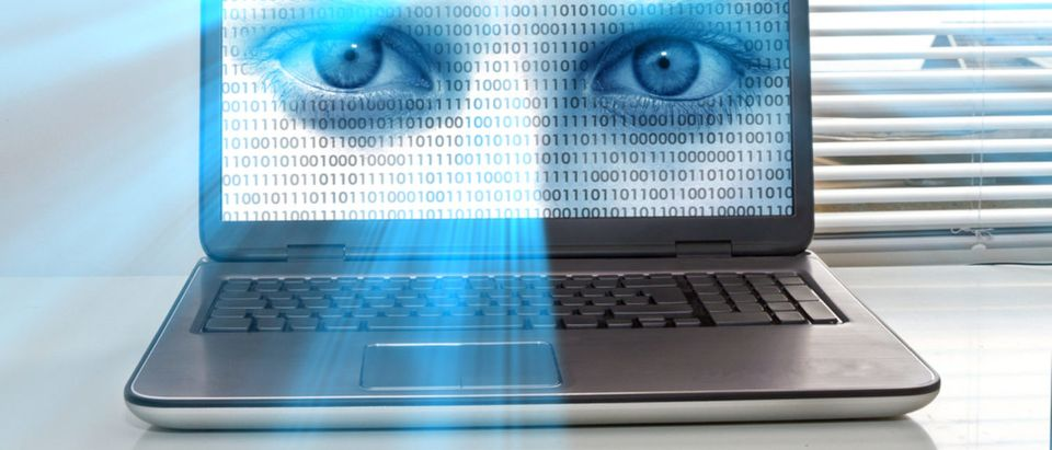 Computer spying on owner [Shutterstock - Juergen Faelchle]