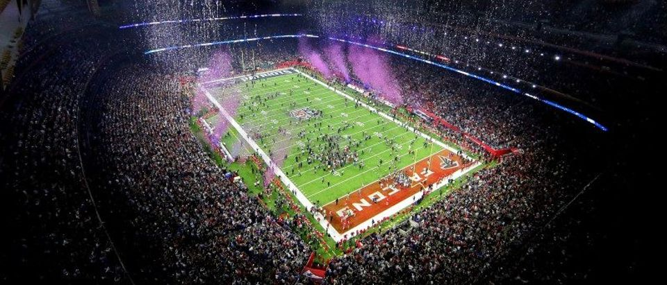 FILE PHOTO: An overall view as the New England Patriots win Super Bowl LI against the Atlanta Falcons at NRG Stadium in Houston