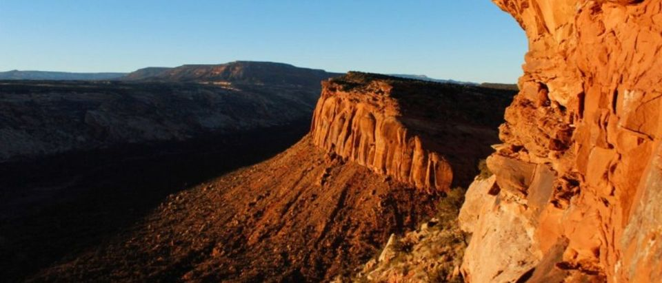 FILE PHOTO: The view from Comb Ridge is pictured in Utah's Bears Ears area of the Four Corners Region