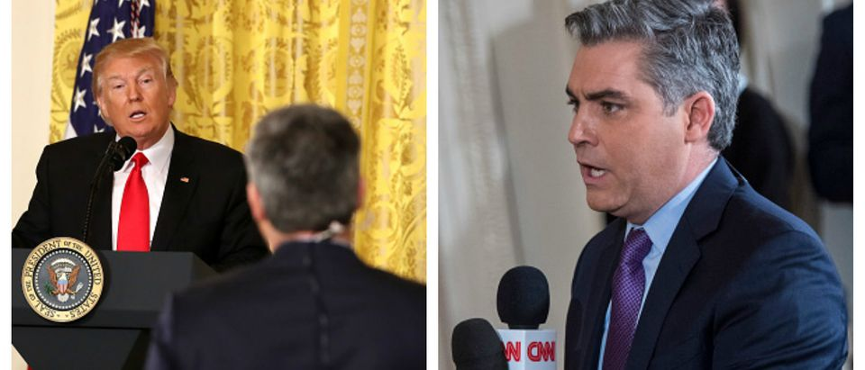 Acosta And Trump
