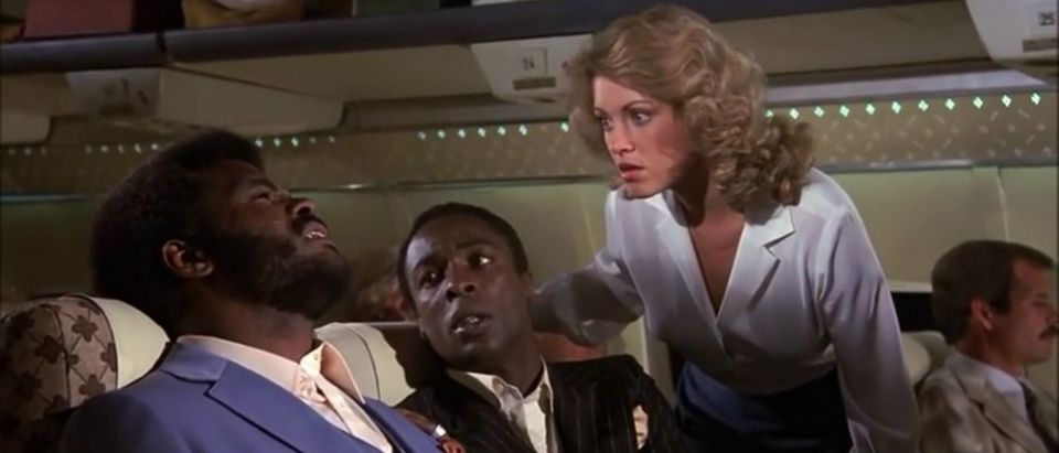 Airplane jive talk scene YouTube screenshot/Brett Foran