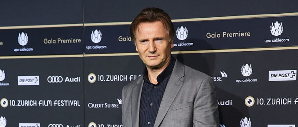 'A walk amongst the Tombstones' Green Carpet Arrivals - Zurich Film Festival 2014
