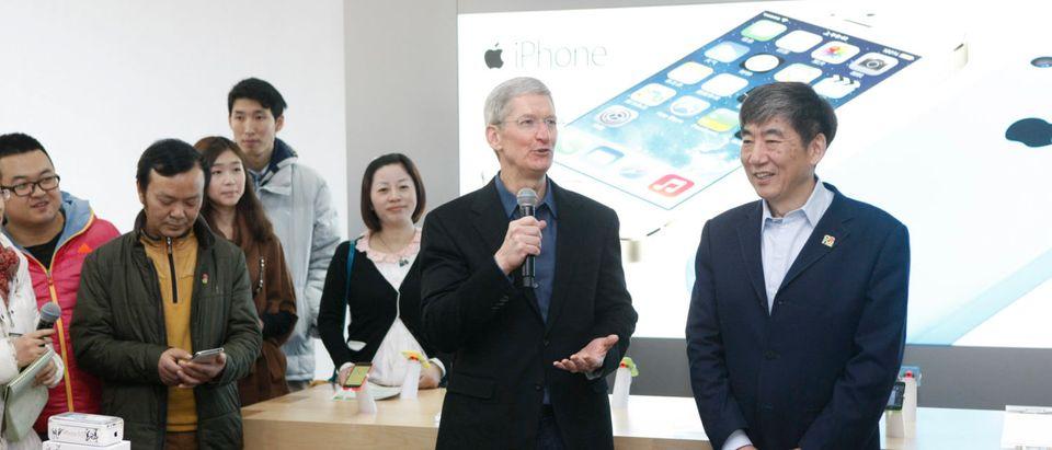 CEO Tim Cook Visits Beijing