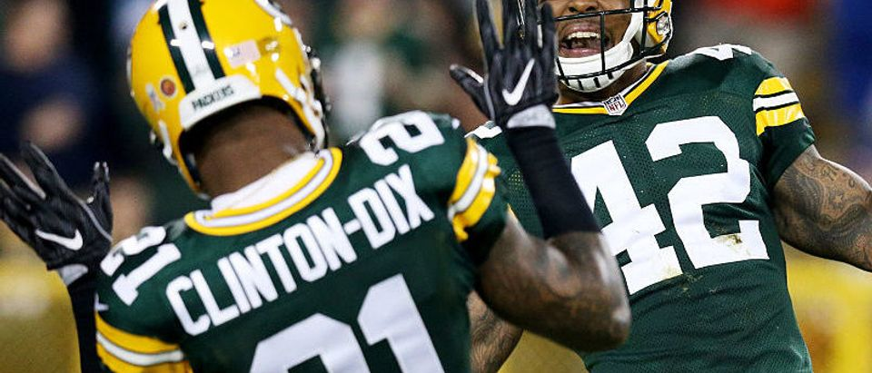 Ha Ha Clinton-Dix at Lambeau Field on November 6, 2016 in Green Bay, Wisconsin. (Photo by Dylan Buell/Getty Images)