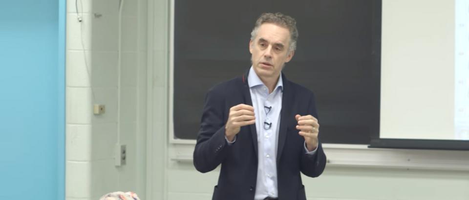 Dr. Jordan B. Peterson discusses the neuropsychology of symbolic representation (Photo Credit: YouTube/Jordan B Peterson)