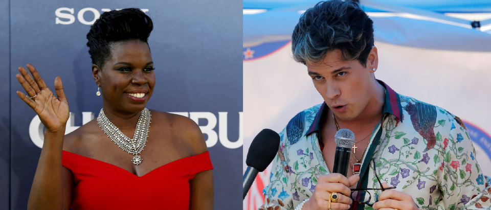 Leslie Jones and Milo Yiannopoulos (REUTERS/Mario Anzuoni and REUTERS/Lucas Jackson)