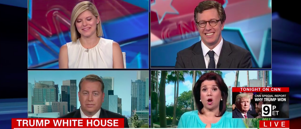 Screen Shot Ana Navarro Rips Trump (CNN: Aug 7, 2017)