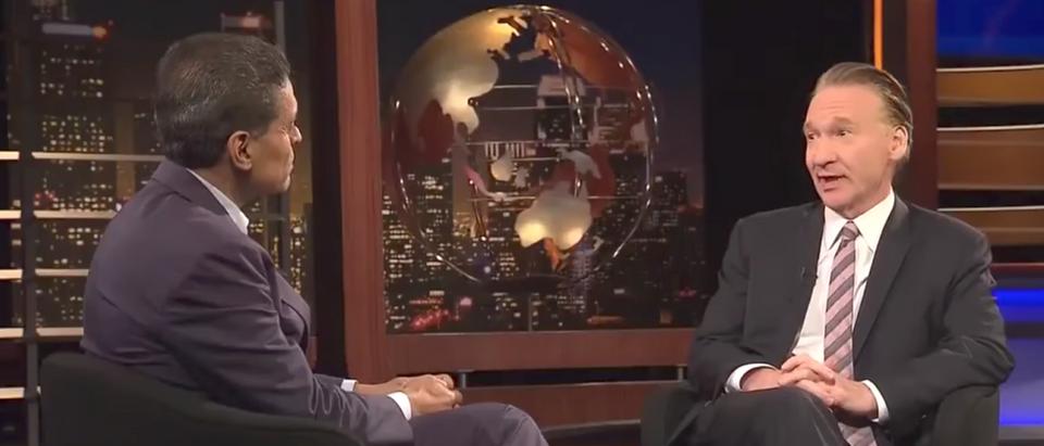 CNN's Fareed Zakaria interviews Bill Maher. (Youtube screen grab)