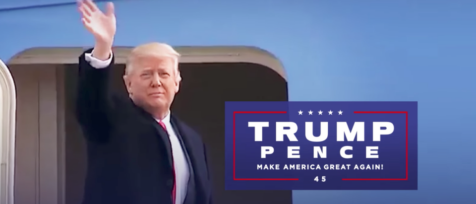 Trump campaign ad released Aug. 13, 2017. (Youtube screen grab)