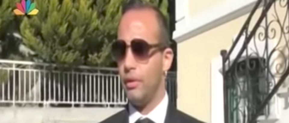 Former Trump campaign adviser George Papadopoulos. Youtube screen grab