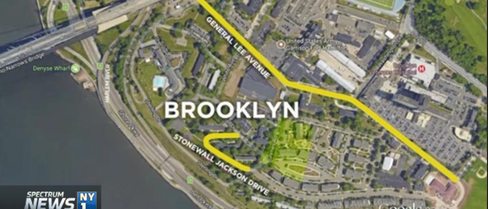 Fort Hamilton Park, Brooklyn (NY1 Video Screen Shot)