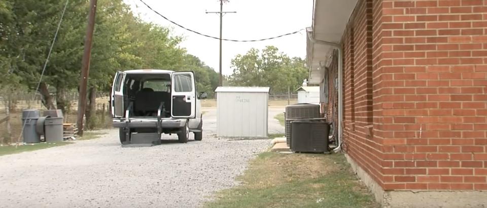 A shuttered nursing home in Calvert, Texas in 2011. (YouTube screenshot/Elizabeth O'Neal-Hooker)