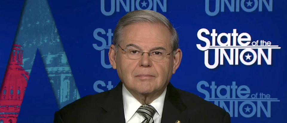 Sen. Bob Menendez speaks on CNN in Feb. 2017. (YouTube Screenshot/CNN)