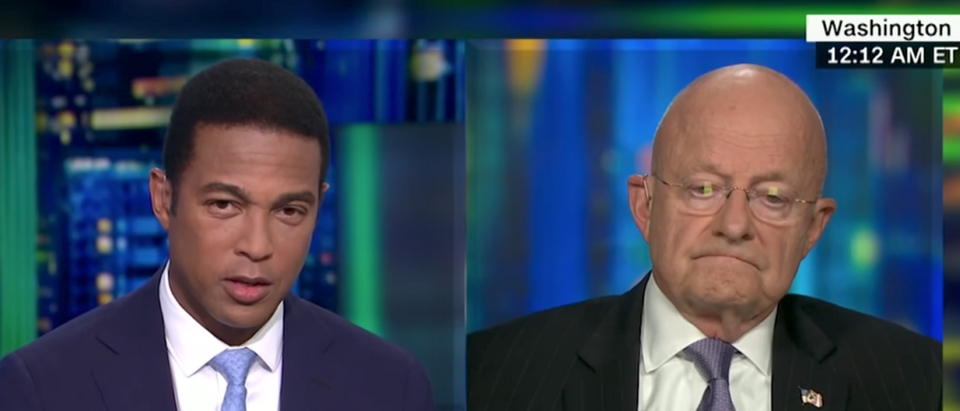CNN's Don Lemon discusses President Trump's Phoenix speech with former Director of National Intelligence James Clapper. (Youtube screen grab)