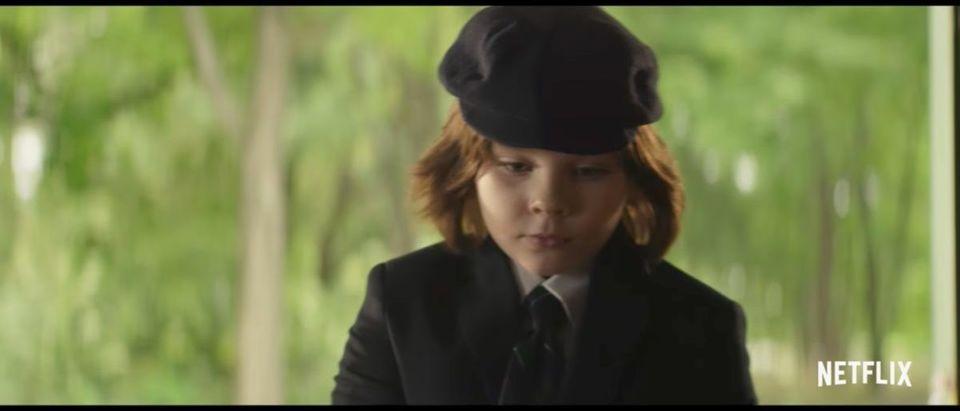 Little Evil (Credit: Screenshot/YouTube Netflix)