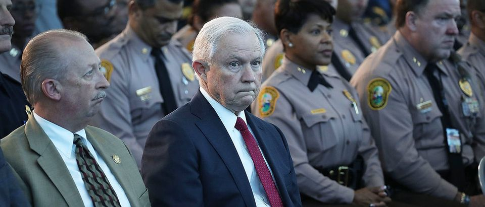 Attorney General Jeff Sessions And ICE Director Homan Speak On Sanctuary Policies In Miami