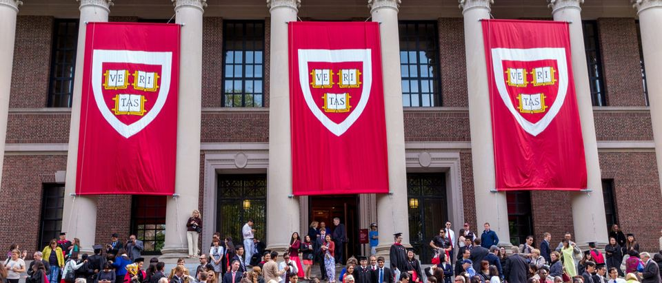 Shutterstock/ CAMBRIDGE, MA - MAY 29: Students of Harvard University gather for their graduation ceremonies on Commencement Day on May 29, 2014 in Cambridge, MA. Shutterstock