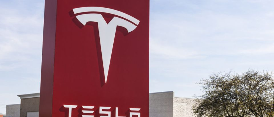 Indianapolis - Circa April 2017: Tesla Service Center. Tesla designs and manufactures the Model S electric sedan IV (Editorial credit: Jonathan Weiss / Shutterstock.com)