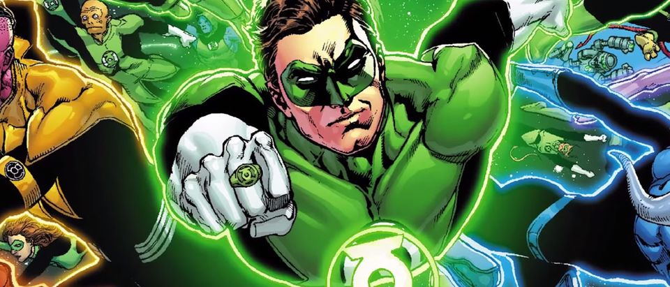 Green Lantern by Ethan Van Sciver (Picture: YouTube)