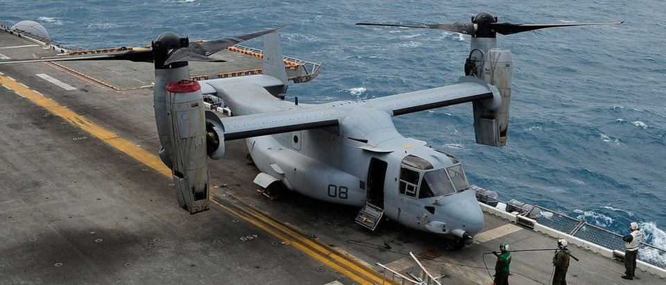 US Amphibious Assault Ship In Action During Joint Australia-US Military Exercise