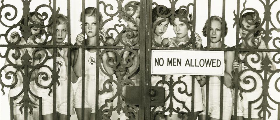 No Men Allowed (Photo: Shutterstock)