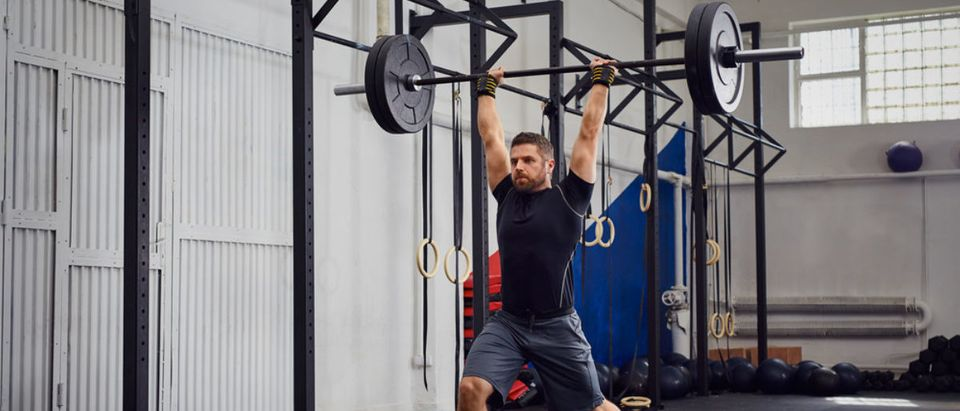 Lifting weights (Credit: Shutterstock)