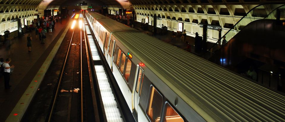 Washington, D.C. metro station (Shutterstock/James Kirkikis)