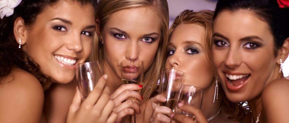 women partying Shutterstock/Stock Lite