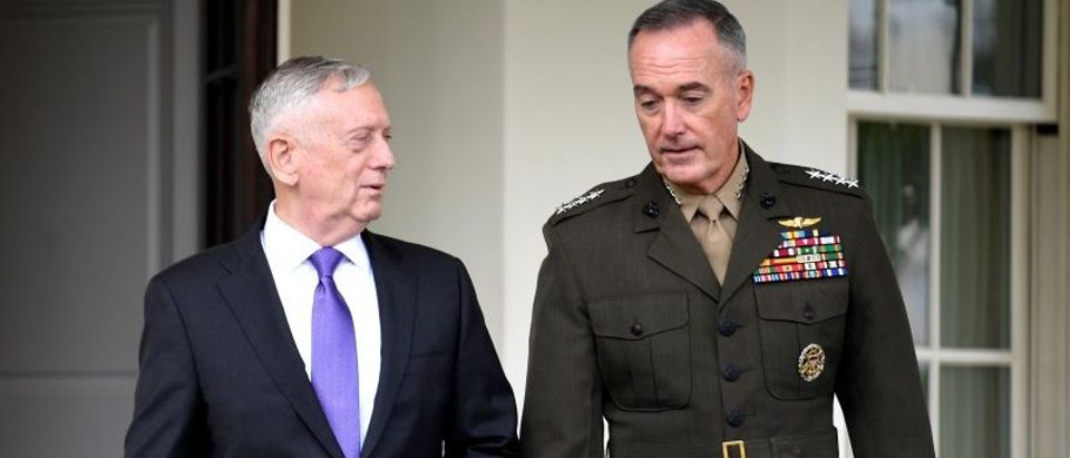 Secretary of Defense Mattis and General Dunford issue statement on North Korea in Washington