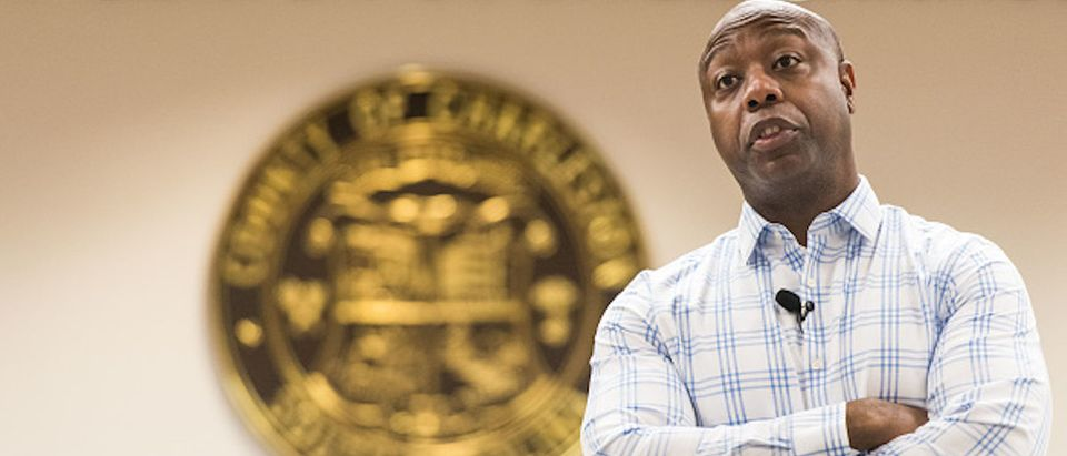 Tim Scott Holds Town Hall To Hear From Constituents In North Charleston