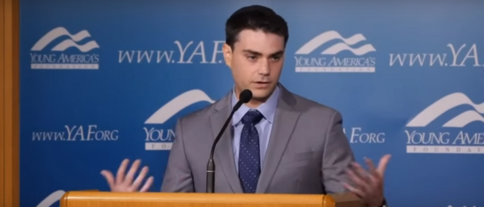 Ben Shapiro speaks at Young America Foundation's 2016 Reagan Ranch High School Conference (Photo Credit: YouTube/YAFTV)