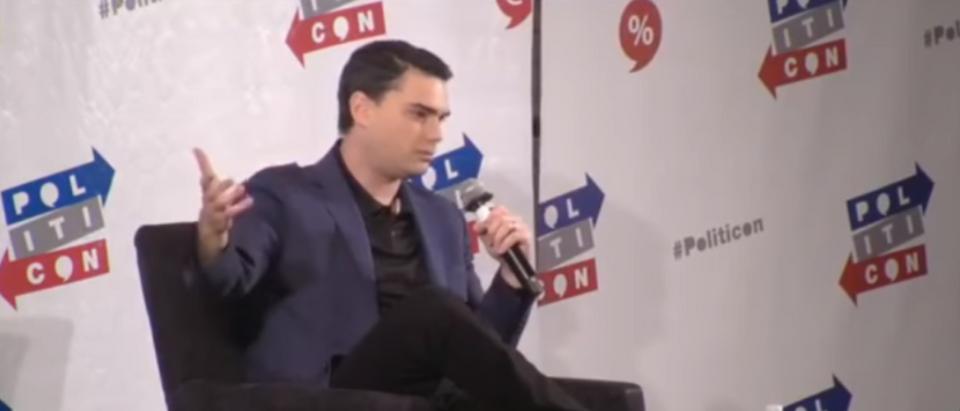 Ben Shapiro spoke at Politicon 2017. (Photo Credit: YouTube/The True Conservative)