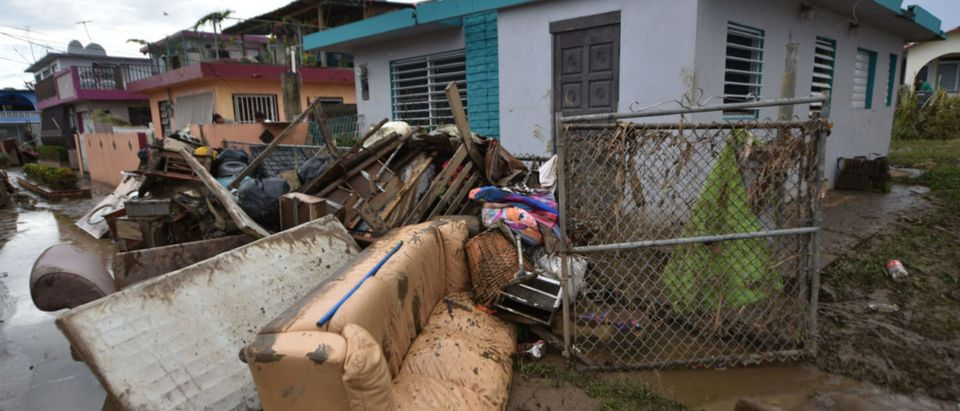 Puerto Rico Governor Ricardo Rossello called Maria the most devastating storm in a century after it destroyed the US territory's electricity and telecommunications infrastructure. (HECTOR RETAMAL/AFP/Getty Images)