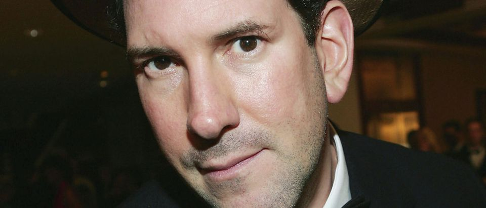 News reporter Matt Drudge attends the White House Correspondents' Dinner at the Washington Hilton Hotel on April 30, 2005 in Washington D.C. (Photo by Evan Agostini/Getty Images)