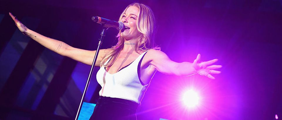 LeeAnn Rimes performing during day 2 of the IEBA 2016 Conference in October 2016 in Nashville, Tennessee. (Photo Credit/Getty Images)