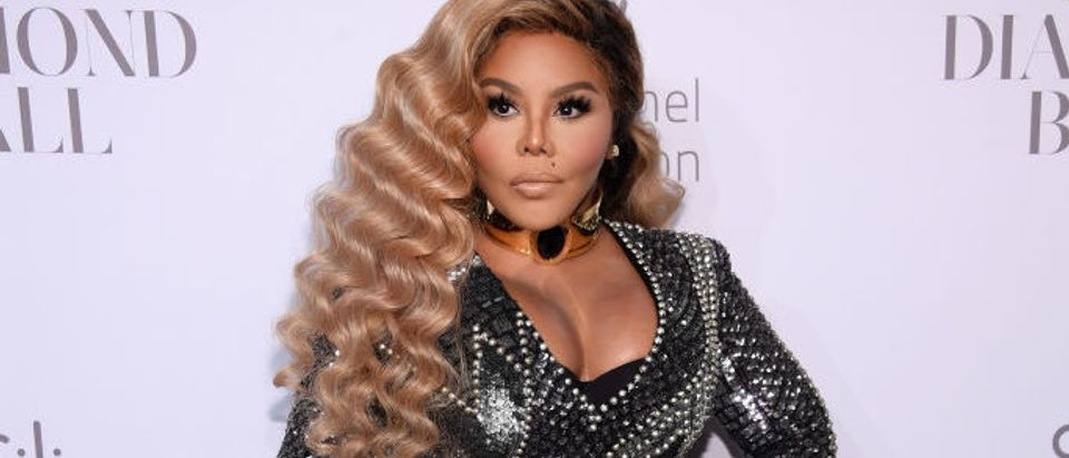 Lil Kim on the Red Carpet for an event in September. (Photo by Dimitrios Kambouris/Getty Images for Clara Lionel Foundation)