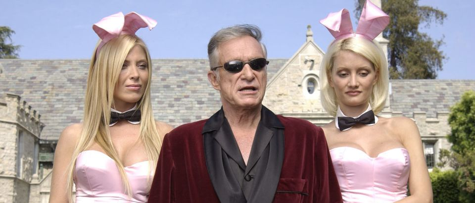 Hugh Hefner & Bob Burnquist Film X Games IX Commercial