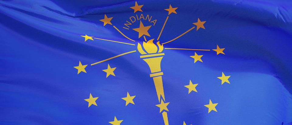 Indiana flag (Photo: Shutterstock)
