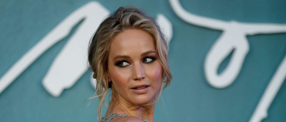 "Cast member Jennifer Lawrence arrives for the UK premiere of ""Mother"" in London, Britain"