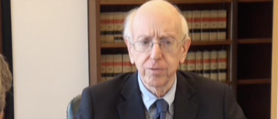 Judge Richard Posner in January 2017. (YouTube screenshot/IllinoisChannelTV)