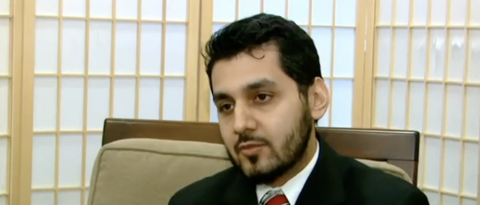 Dr. Imtiaz Chaudhry, a member of the Bensalem Masjid and litigant in the civil rights case against the zoning board. (YouTube screenshot/I Hooper)