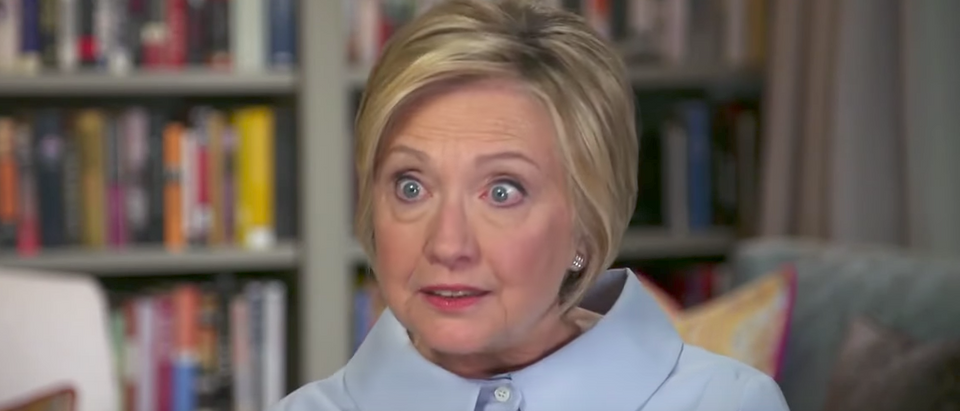 Hillary Clinton on CBS, Sept. 10, 2017. (YouTube screen grab)