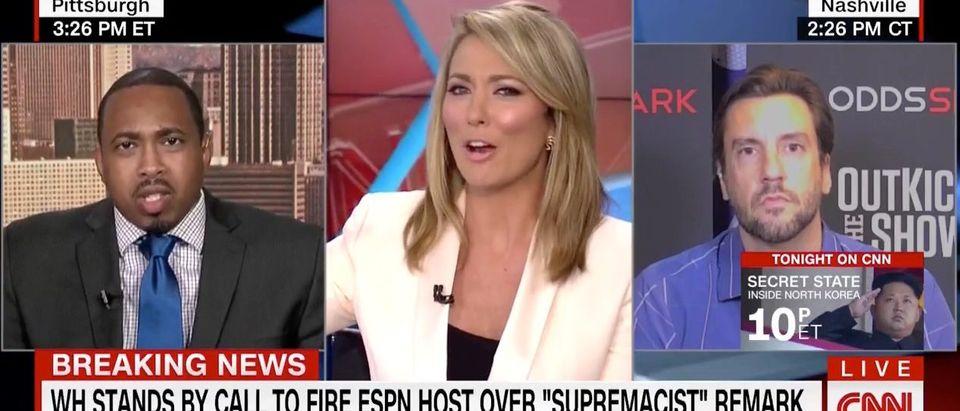 Keith Lamont Scott, Brooke Baldwin, Clay Travis (CNN)
