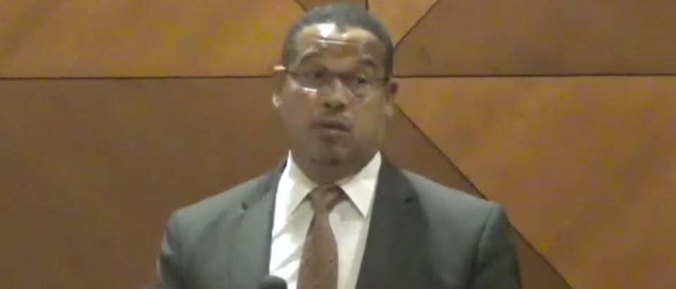 Minnesota Rep. Keith Ellison (Youtube screen grab)